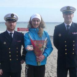 Course au large 2016 : Caroline Frémont 1ère féminine