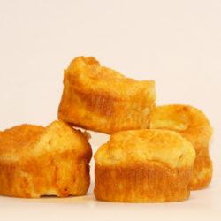 La recette des muffins à l'emmental
